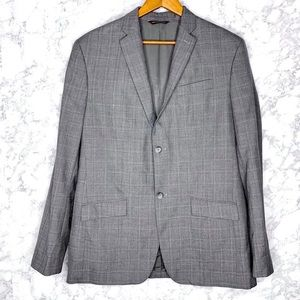 MENS PERRY ELLIS Gray Sport Coat Blazer
